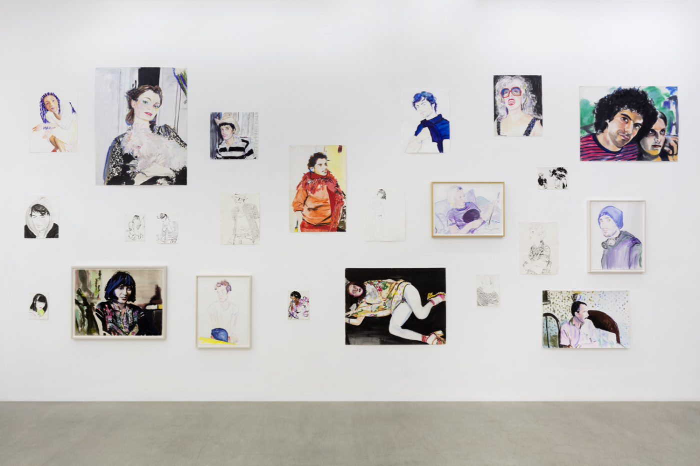 Billy Sullivan, Muses, installation view, kaufmann repetto, Milano, 2019