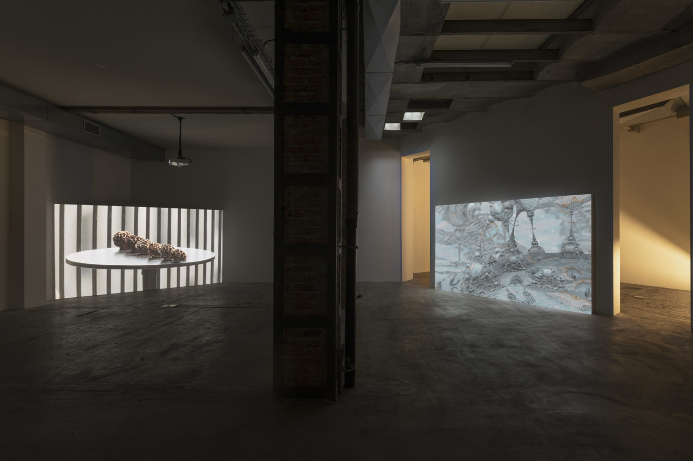 "Andrew Norman Wilson, ""Lavender Town Syndrome"" exhibition view, Ordet, Milan, 2019/2020"