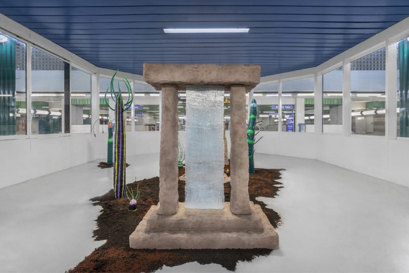 Giovanni Chiamenti - La cerimonia dei misteri, Spazio Serra, Milano