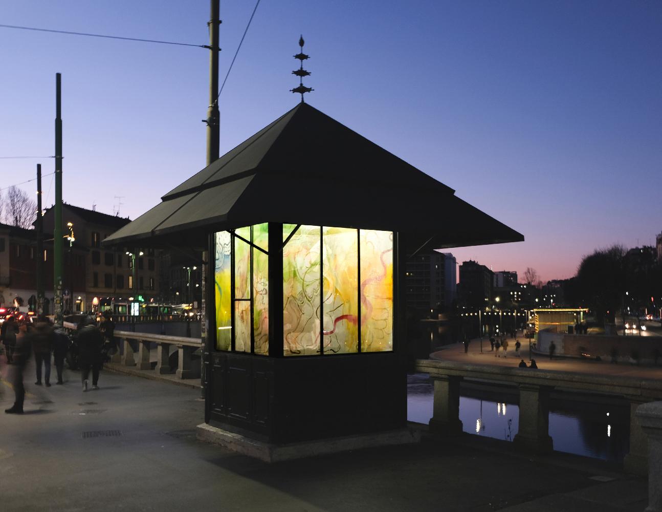 Jacopo Pagin - Another Brown World, Edicola Radetzky, Milano