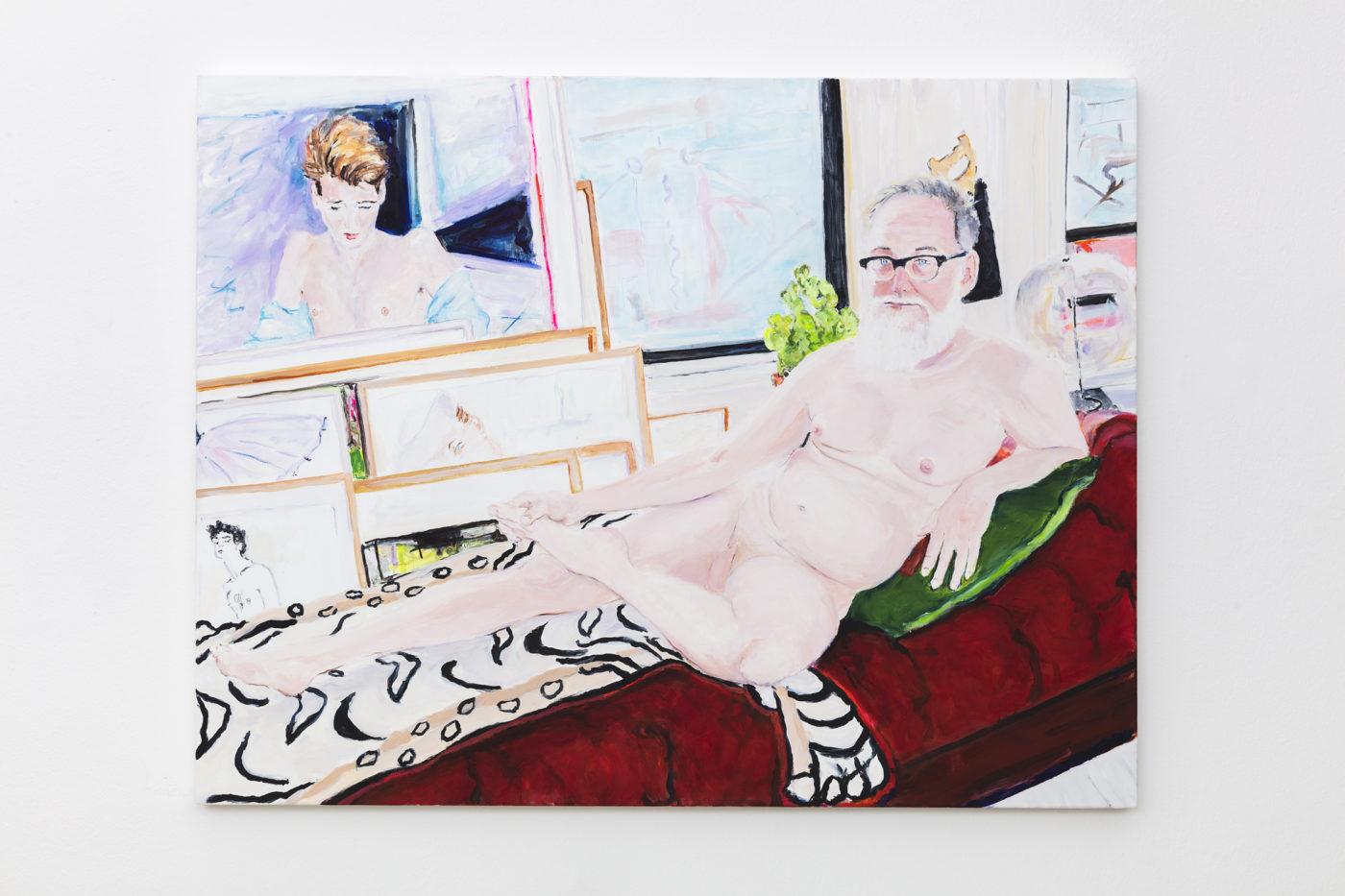 Billy Sullivan, Muses, installation view, kaufmann repetto, Milano, 2019