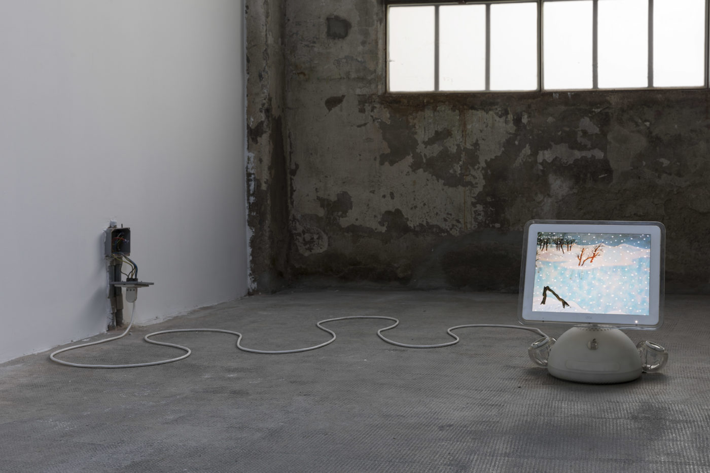 """Andrew Norman Wilson, """"Lavender Town Syndrome"""" exhibition view, Ordet, Milan, 2019/2020"""