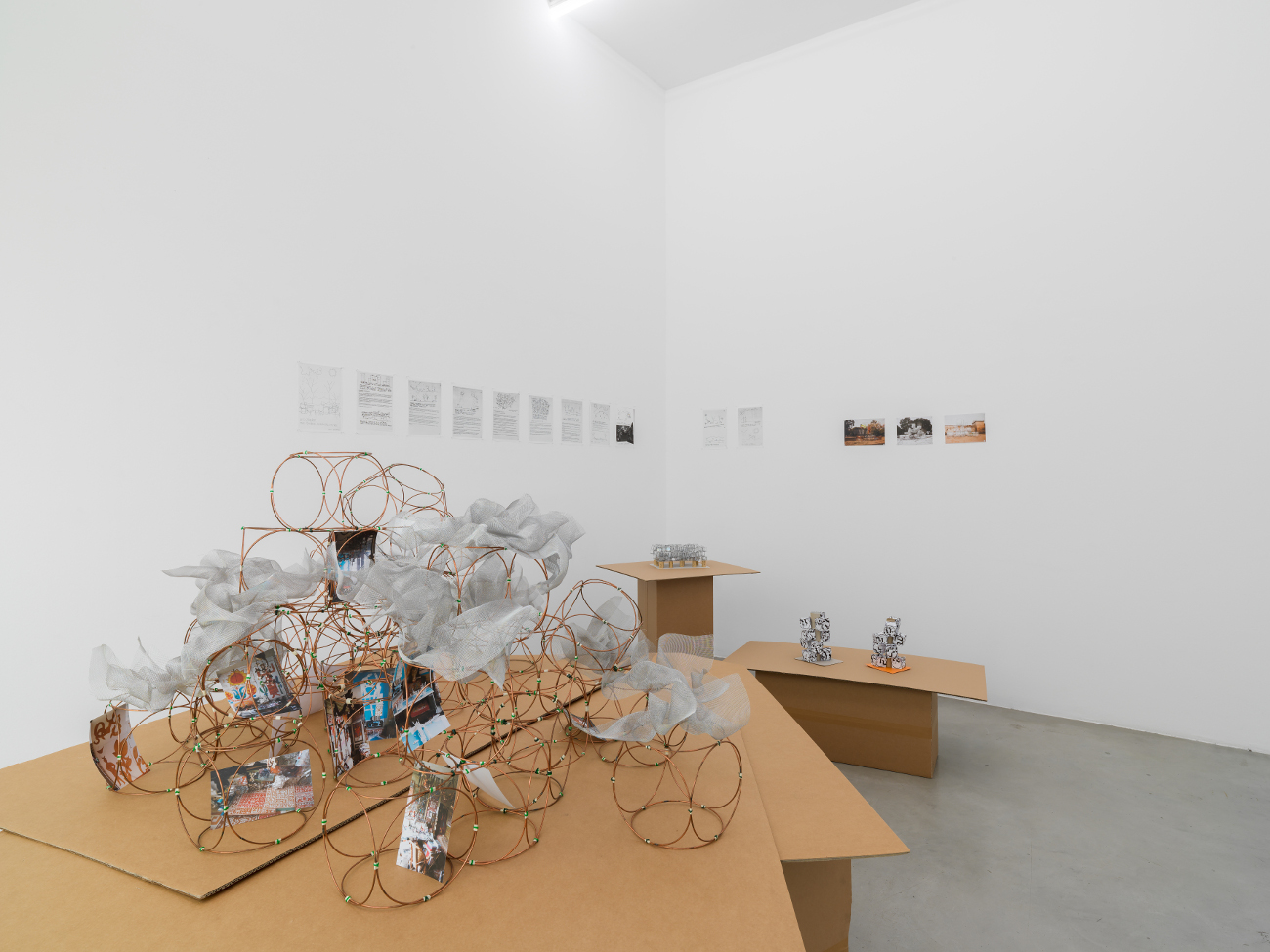 Yona Friedman   sculpting the void. une proposition de Yona Friedman avec Le Fonds de Dotation Denise et Yona Friedman, at Francesca Minini, Milan