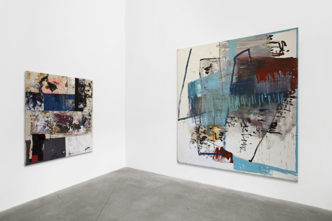 Painting before painting. Alessandro Albanese Gallery, Milano